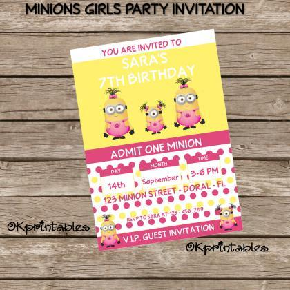 Minion Birthday Party Pack - Minion..