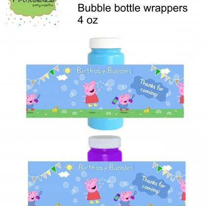 Peppa pig and George pig Bubble bot..