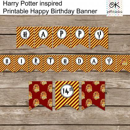 Harry Potter Inspired Happy Birthda..