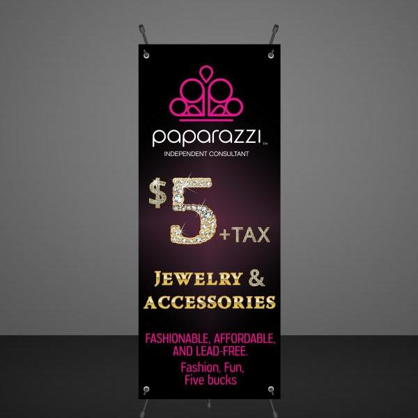 DIGITAL $5 Jewelry Banner -Product display - Vendor Show- Instant download- Paparazzi
